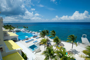 The view from the Cozumel Palace Resort