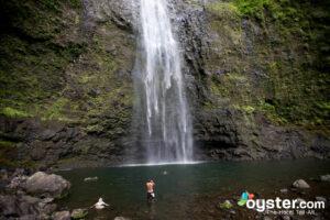 Hanakapiai Falls, Kauai, Hawaii/Oyster