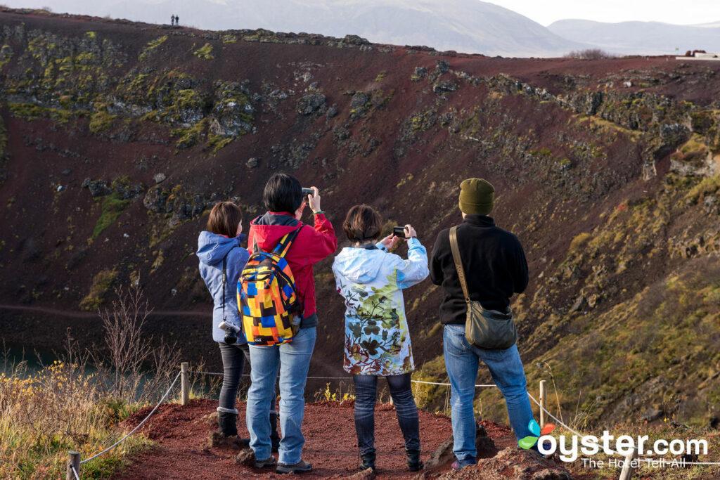 Cratera de Kerid, Islândia / ostra