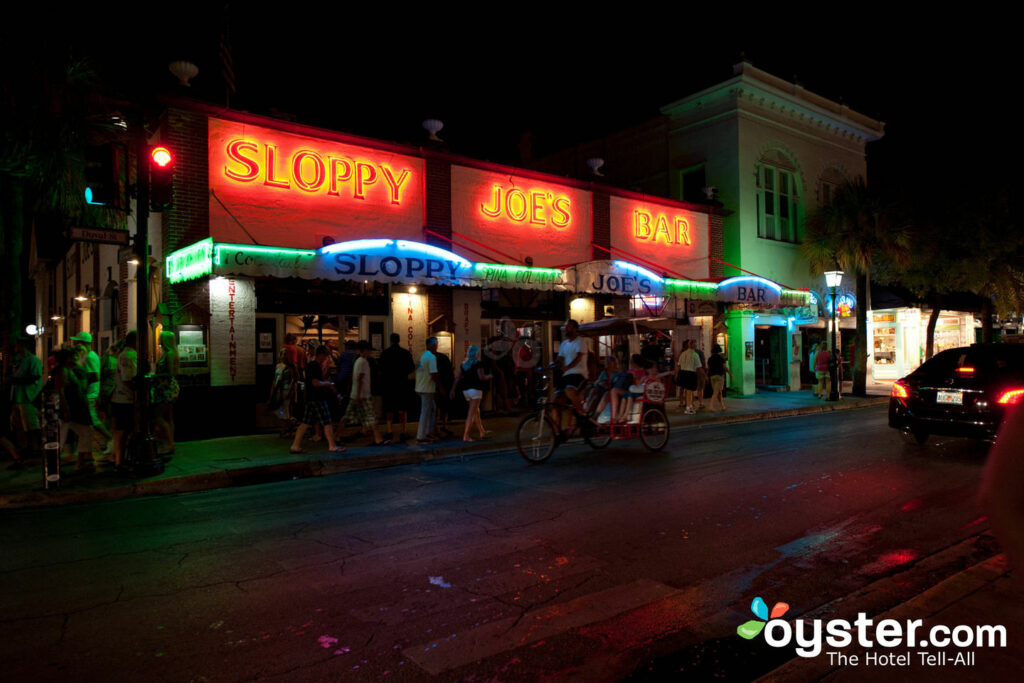 Sloppy Joe's Bar in der Duval Street, Key West