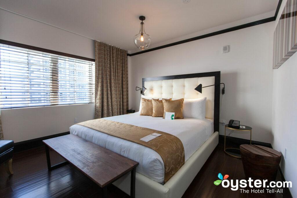 La camera King dell'Hotel Croydon .