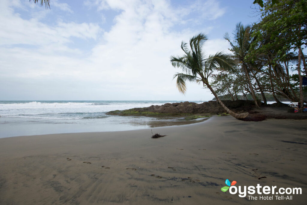 Costa Rica's Caribbean coast is often sunny during the rainy season.