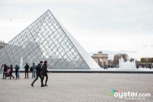 The Louvre, Paris/Oyster