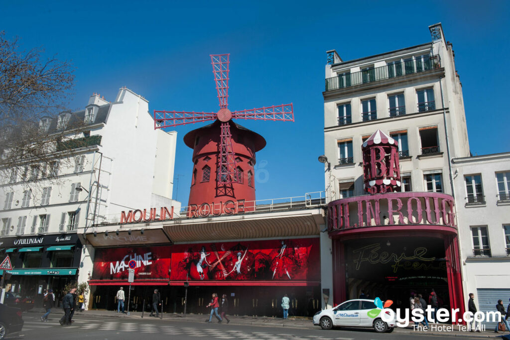 The famed Moulin Rouge sits amid Pigalle's sex-and-booze fueled antics.