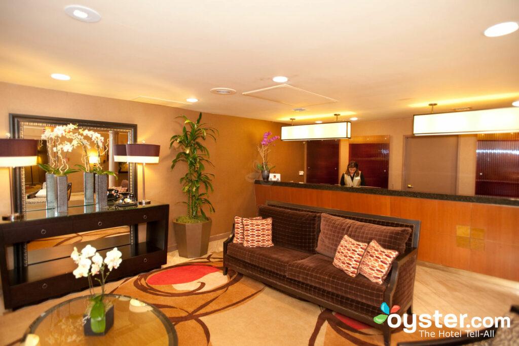 Lobby at Le Parc Suite Hotel