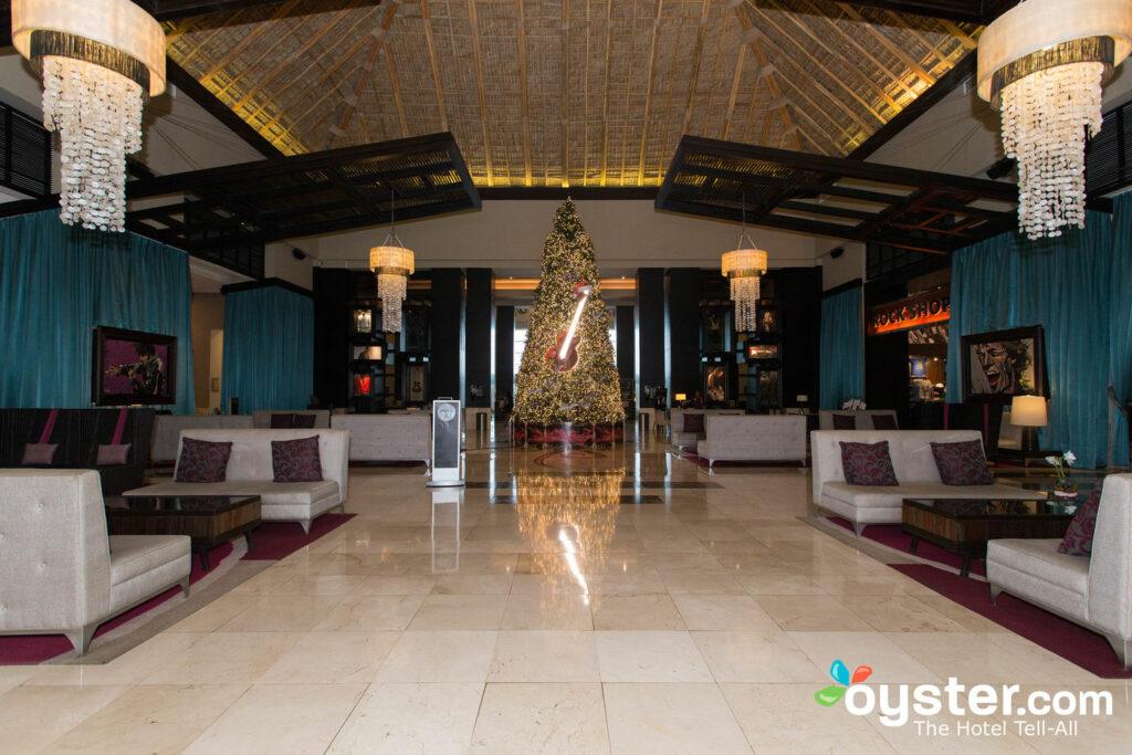 Lobby at Hard Rock Punta Cana