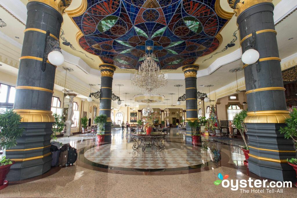 Lobby at Hotel Riu Palace Punta Cana