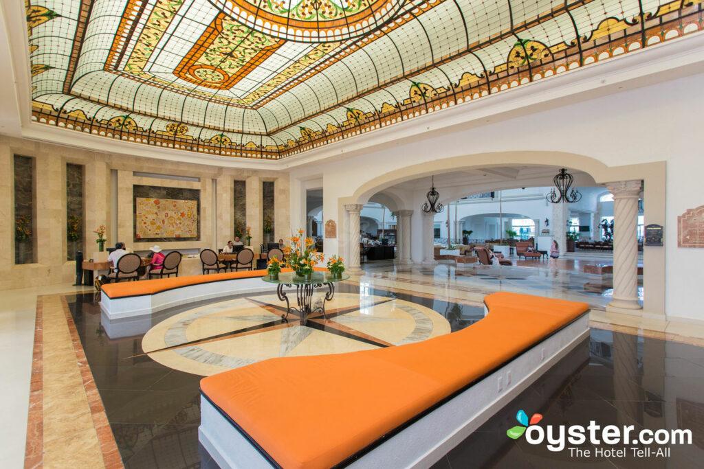 Lobby at Hyatt Zilara Cancun
