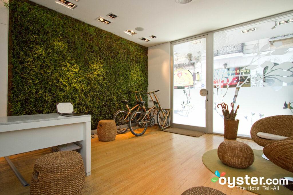 Lobby en CasaCalma Wellness Hotel