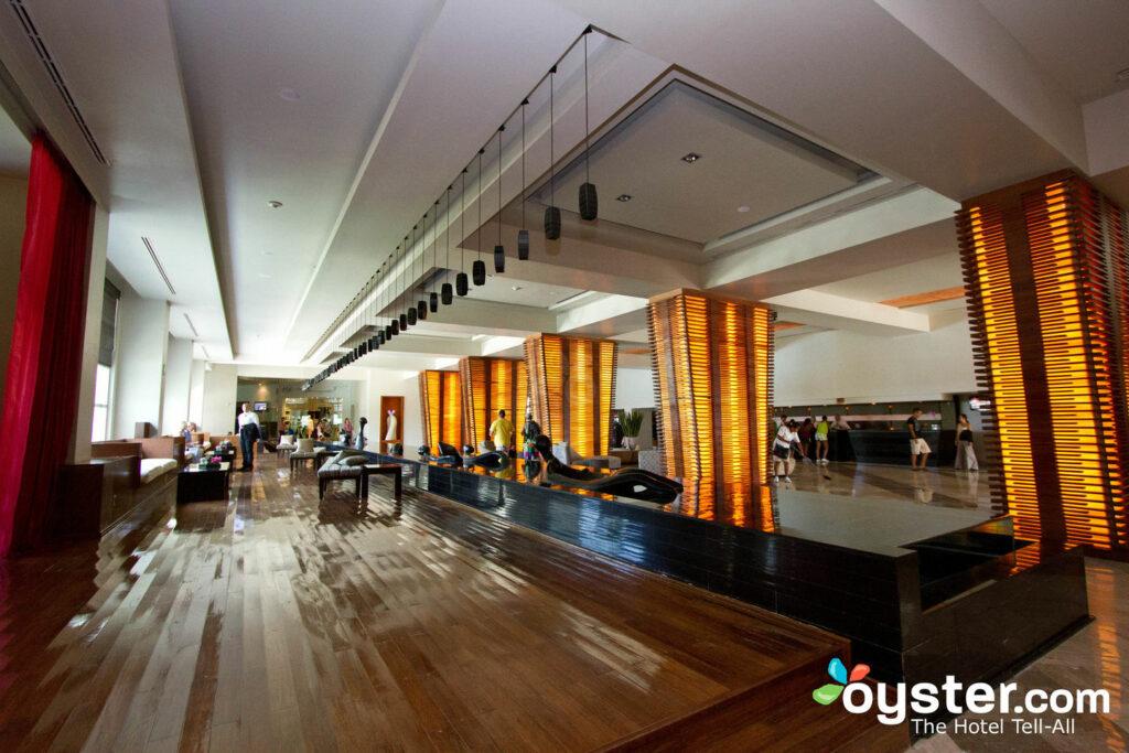 Lobby at Melody Maker Cancun
