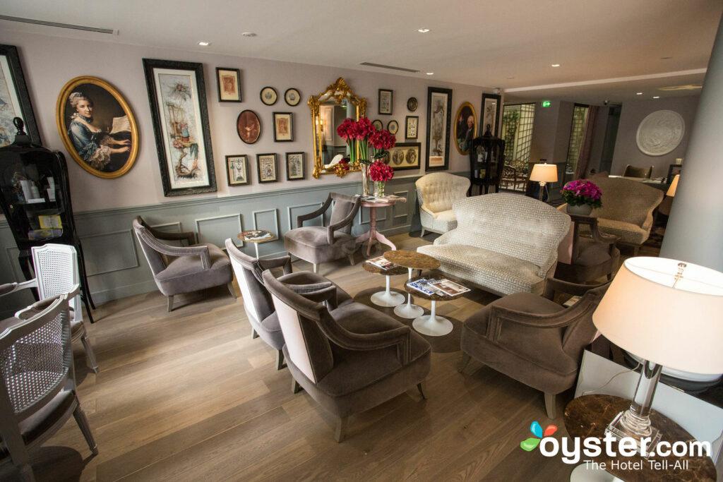 Lobby at La Maison Favart