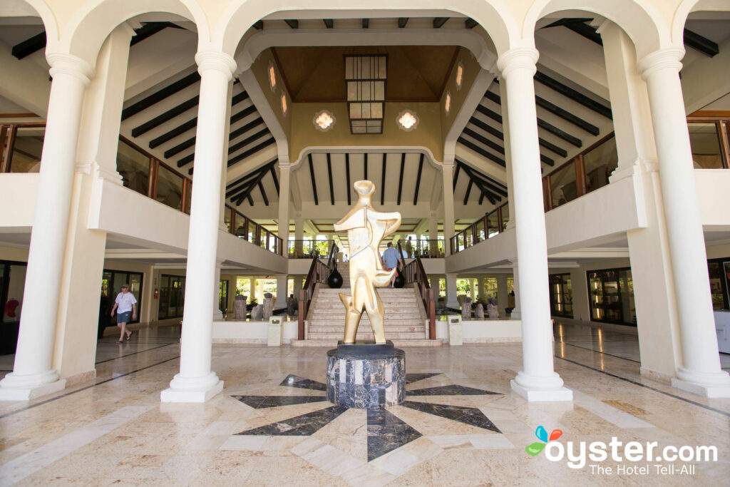 Lobby at Paradisus Palma Real Golf & Spa Resort