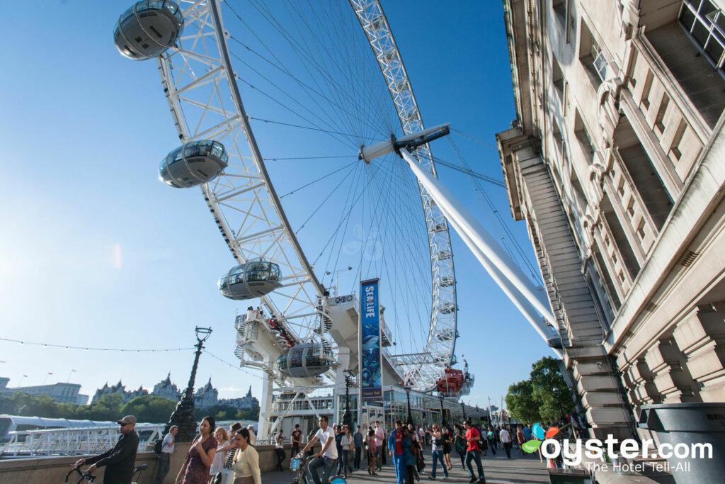 O London Eye / Oyster
