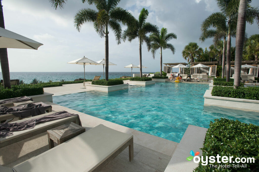 The main pool at Viceroy Anguilla