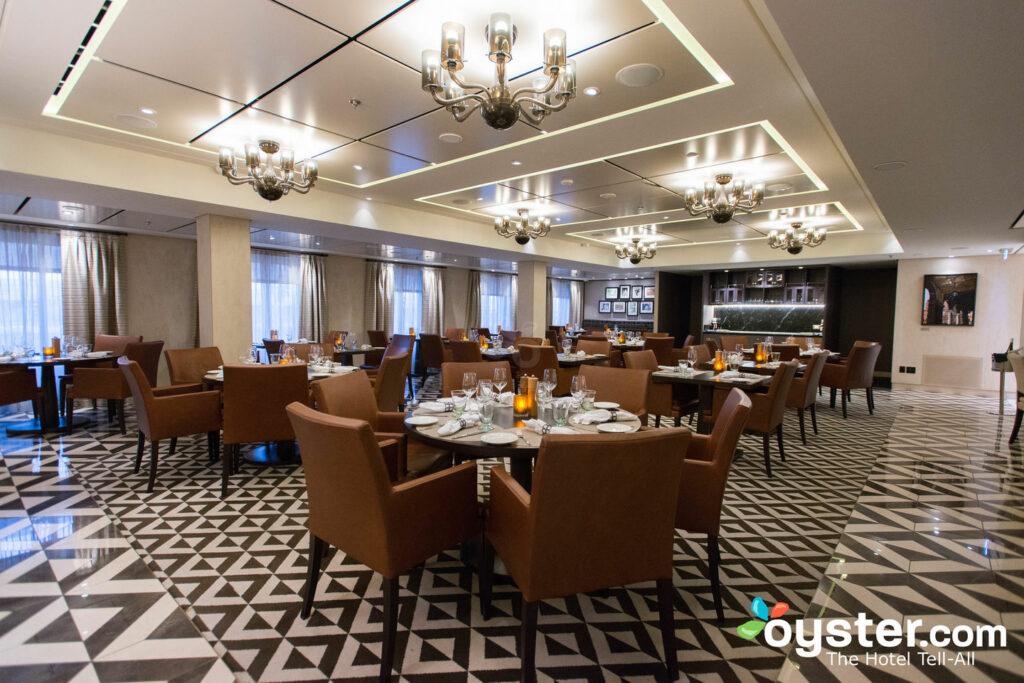 Restaurant italien de Manfredi sur Viking Star / Oyster