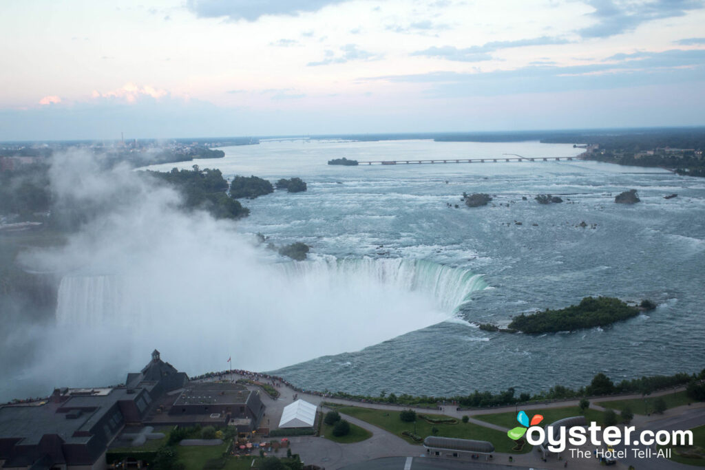 Niagara Falls from The Tower Hotel/Oyster