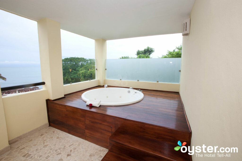 The balcony of the Master Suite at The Royal Suites Punta Mita by Palladium