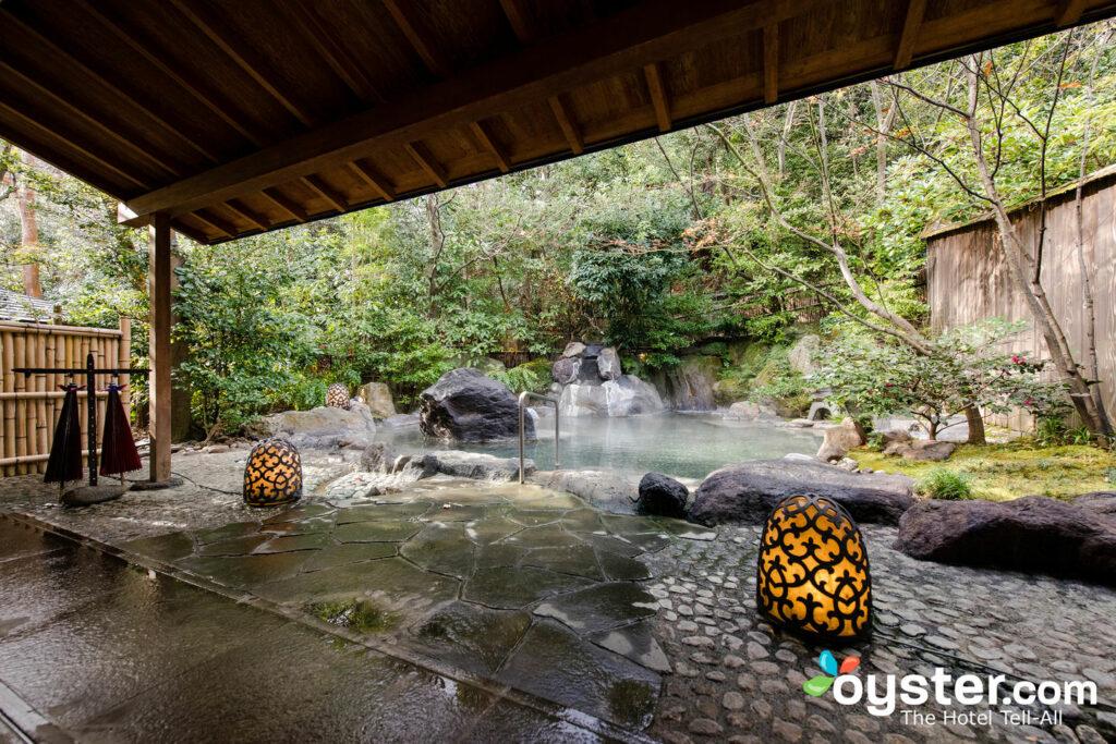 Hot Spring Bath at Gora Kadan/Oyster