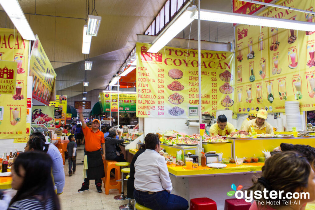 The Mexican fare on offer in the Coyoacan Market is limitless.