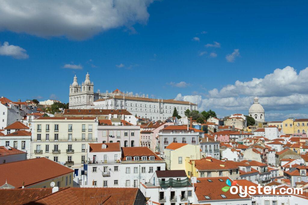 Miradouro das Portas do Sol, Lisbona