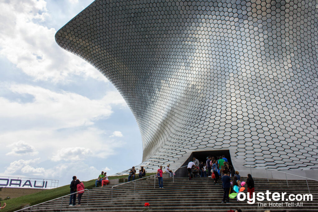 Museo Soumaya, Polanco, Mexico City/Oyster