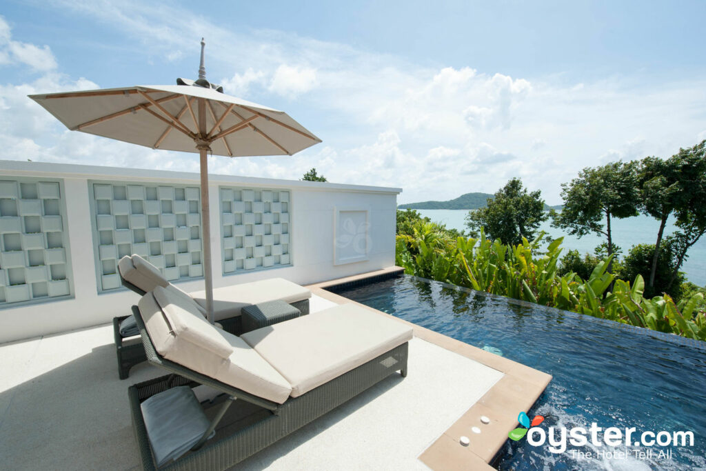 The Ocean Pool Villa en Amatara Resort & Wellness