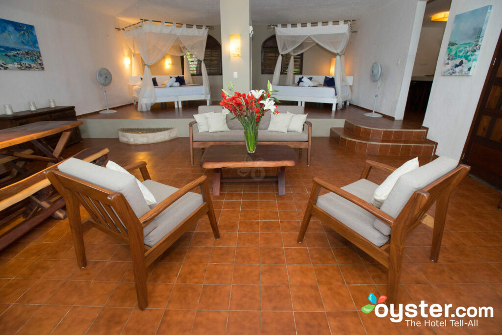 The Master Suite at Casa de Las Olas in Tulum