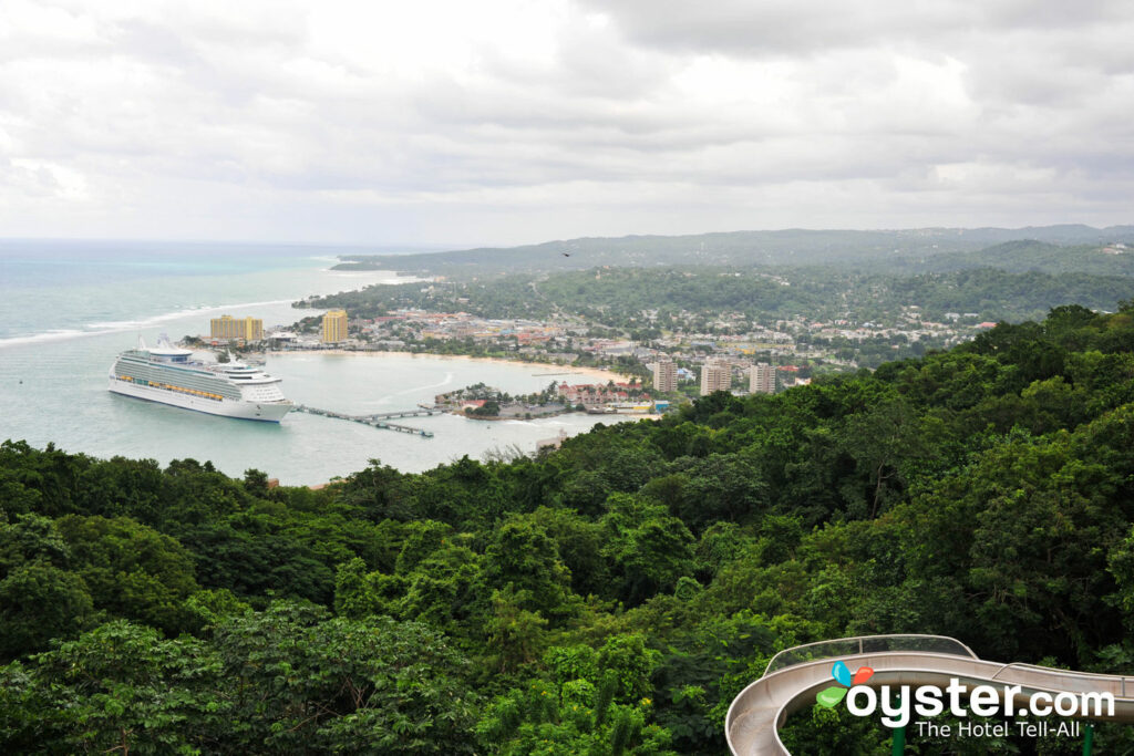 View from Mystic Mountain, Ocho Rios/Oyster