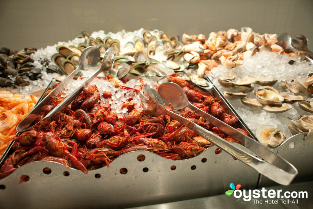 Village Seafood Buffet at the Rio All Suites Hotel & Casino/Oyster