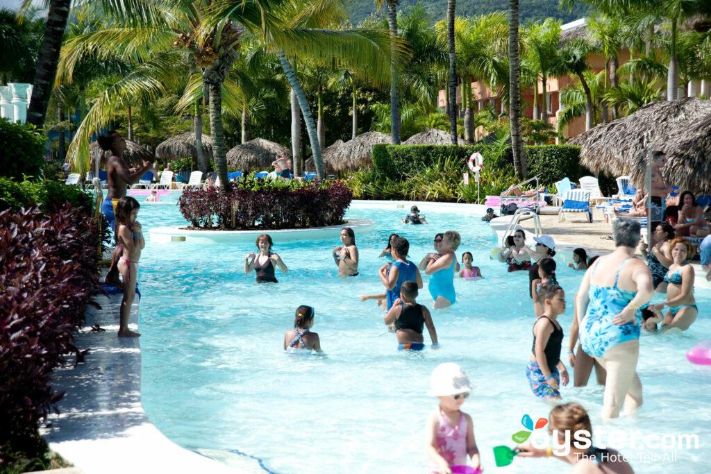 outdoor pool at iberostar costa dorada