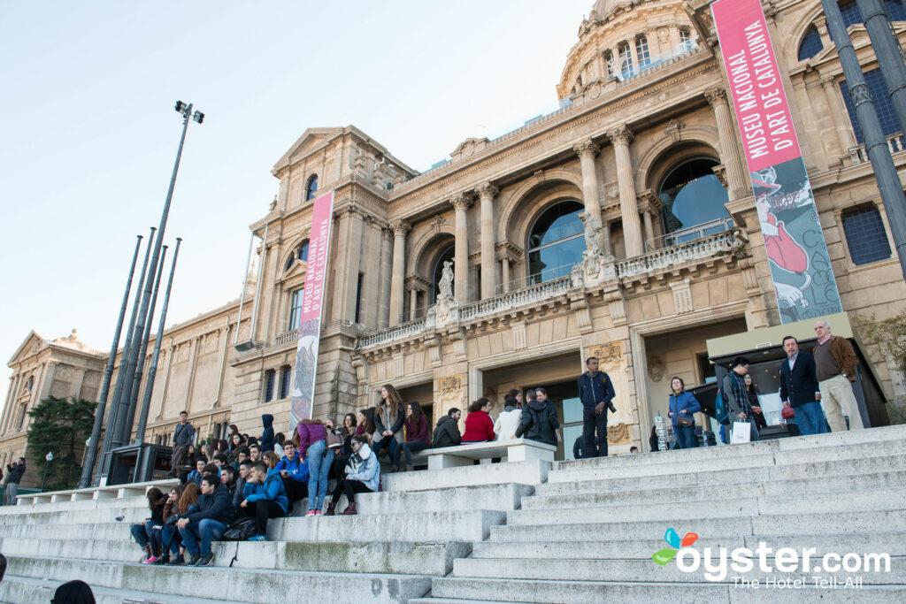 Museo Nacional de Arte de Cataluña, en Montjuic.