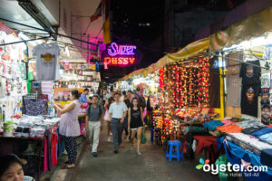 Just one of the venues to be found in Bangkok's Patpong.