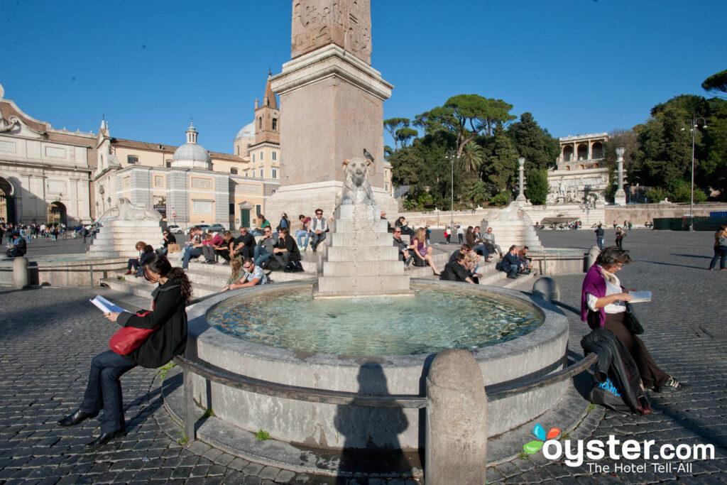 Piazza del Popolo, Rome/Oyster