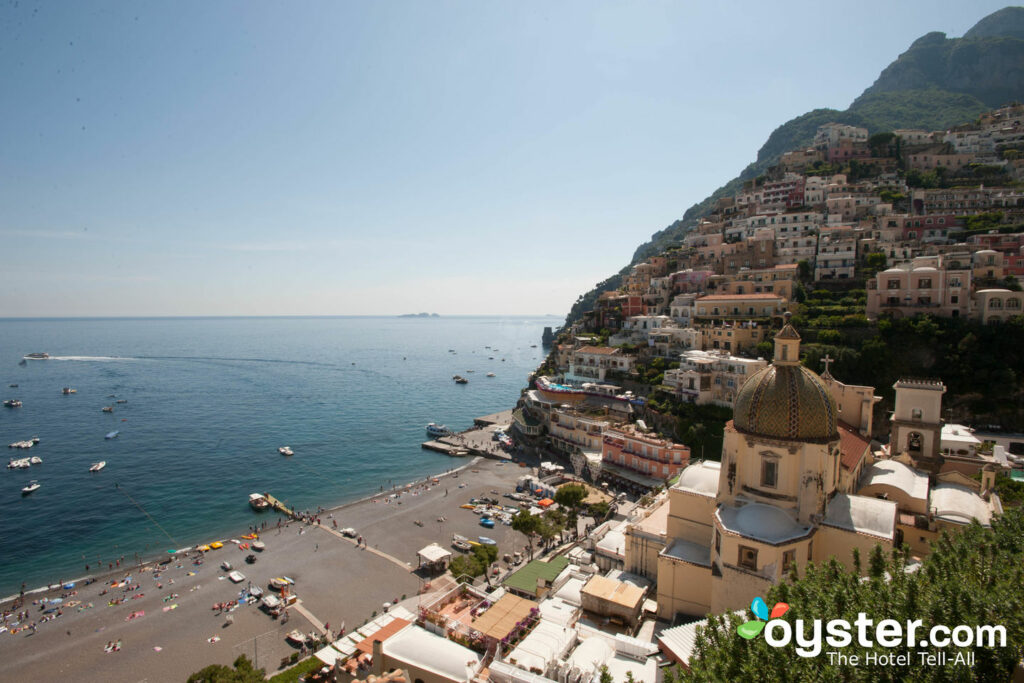 View from Le Sirenuse Hotel, Positano/Oyster