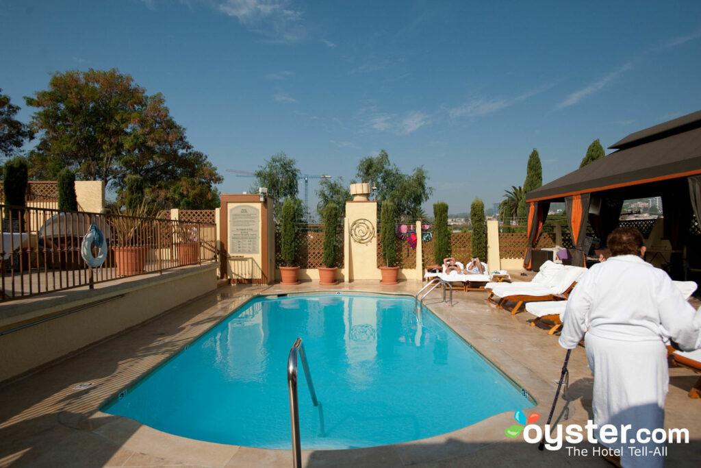 Pool at Le Parc Suite Hotel