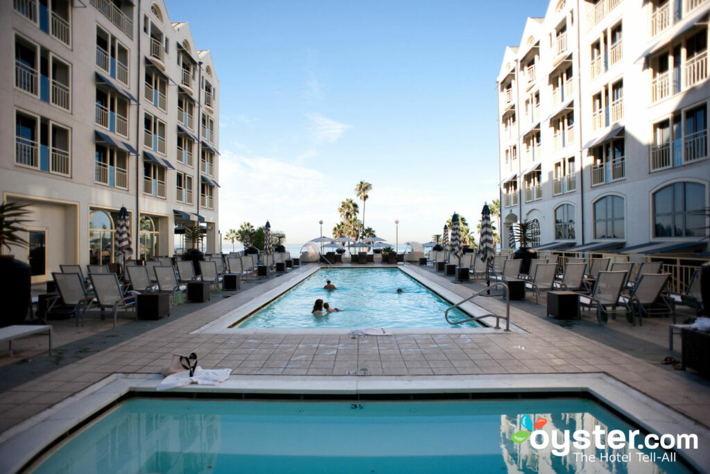 Pool at Loews Santa Monica Beach Hotel