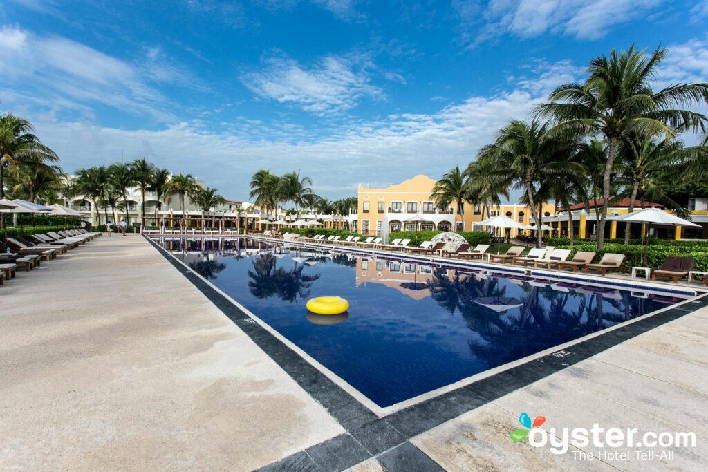 Pool at Dreams Tulum Resort & Spa
