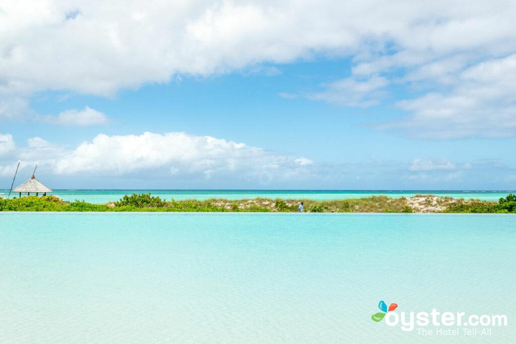 Piscine à COMO Parrot Cay, Îles Turques et Caïques / Huîtres