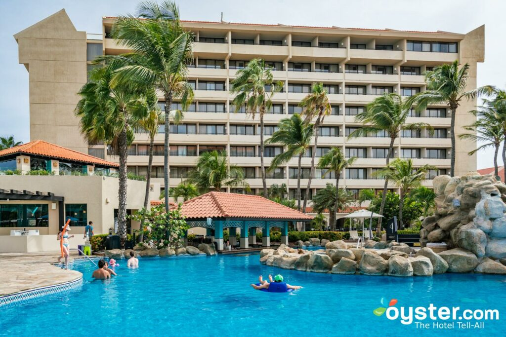 Barcelo Aruba: Review + Updated Rates (Oct 2019) | Oyster.com on map of riu aruba, map of hotels on eagle beach aruba, map of aruba timeshares, map of aruba high-rise, map of palm beach in aruba the caribbean,
