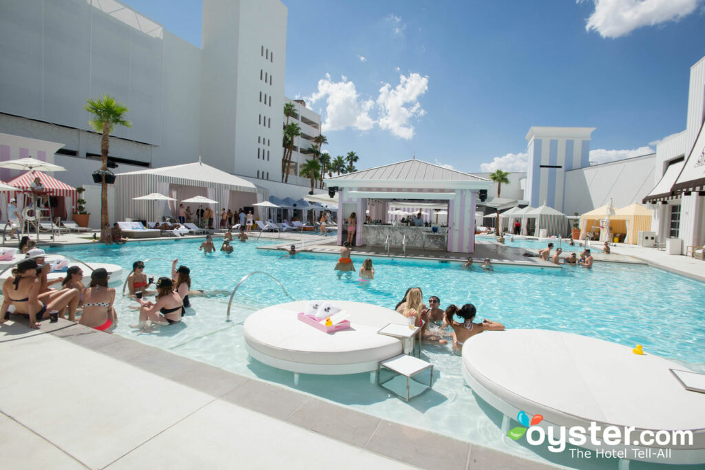 Pool at SLS Las Vegas Hotel & Casino/Oyster