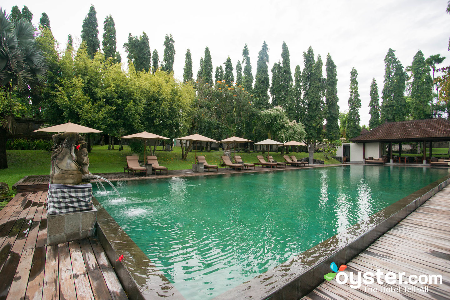 The Pool at The Chedi Club Tanah Gajah a GHM Hotel