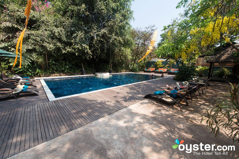 Pool at Heritage Suties Hotel