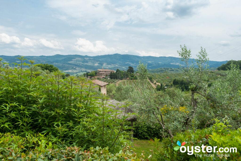 Vista da Villa Bordoni.