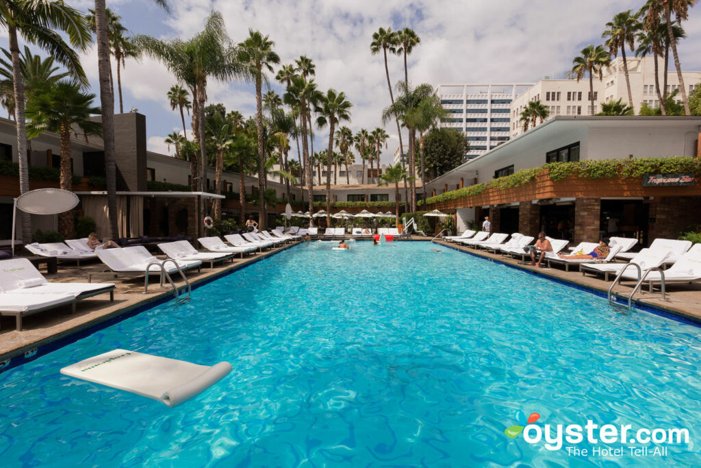 La piscina en el Hollywood Roosevelt / Oyster
