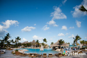 One of Sanctuary Cap Cana's many pools
