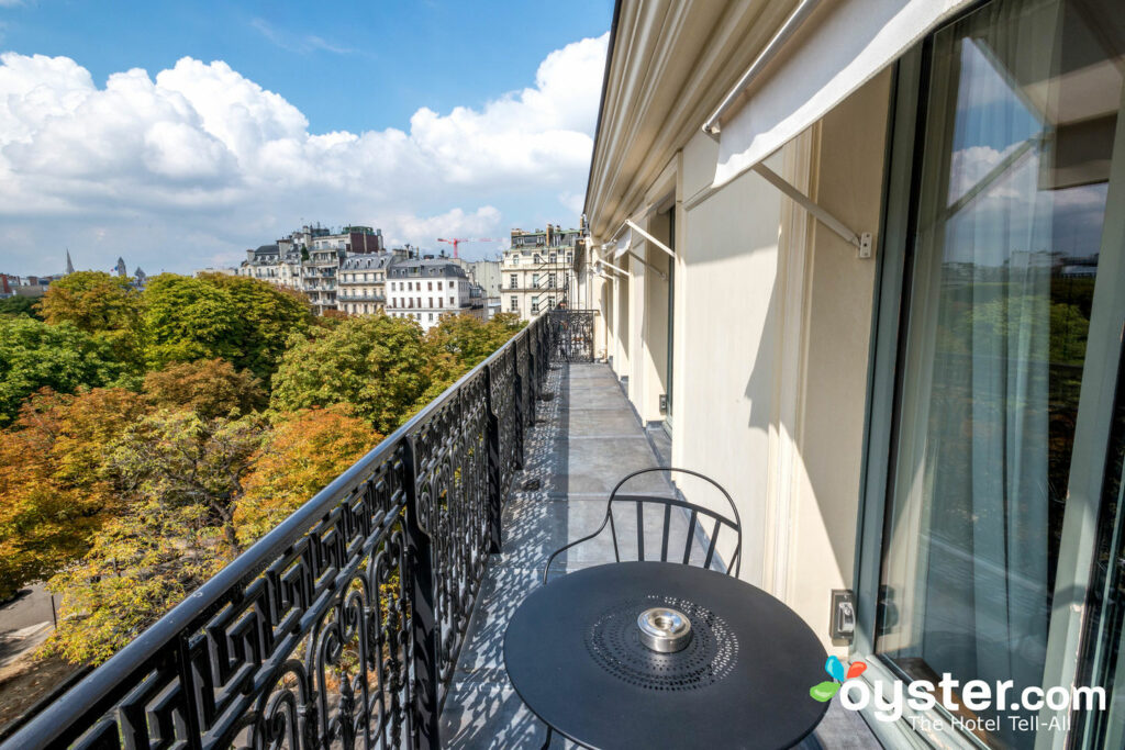 View from the Premier Suite at La Reserve Paris - Hotel and Spa/Oyster