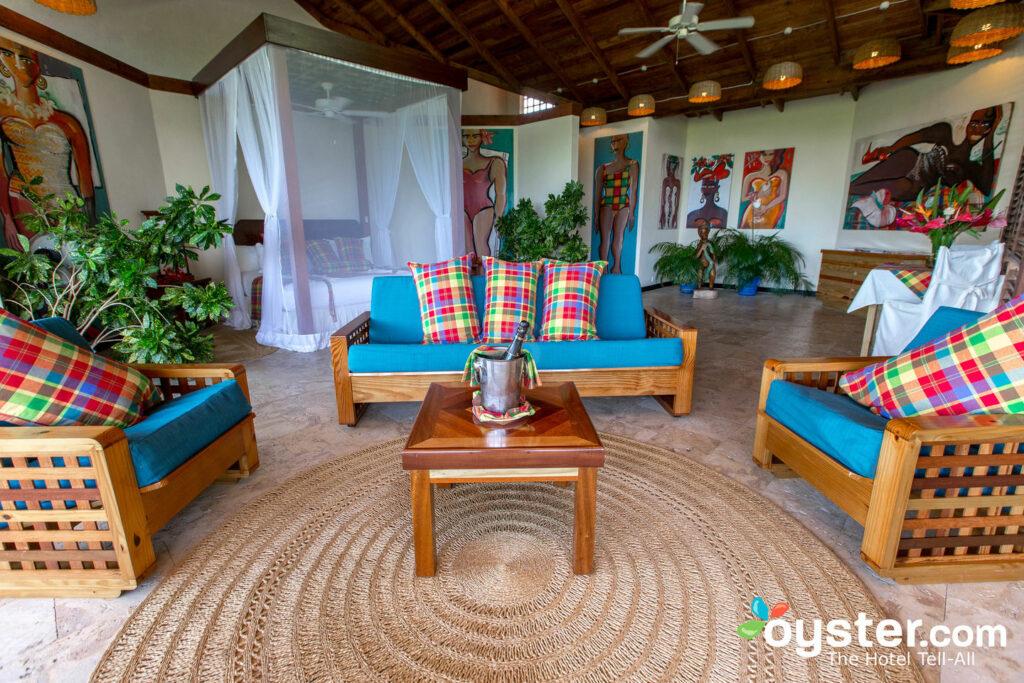 Premium-Zimmer im Anse Chastanet Resort / Oyster