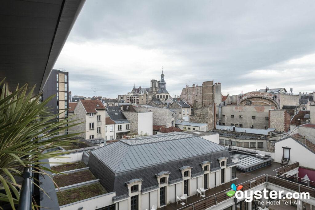 Vue depuis le BEST WESTERN PLUS Hôtel de la Paix, Reims / Oyster