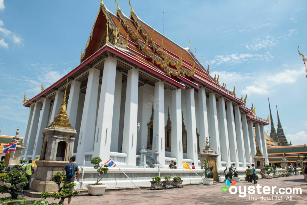 Stützender Buddha Wat Pho, Bangkok