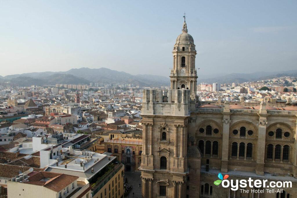View from AC Hotel Malaga Palacio by Marriott, Malaga/Oyster